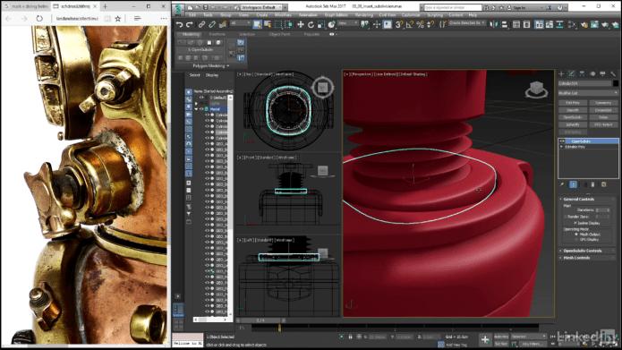 3dsmas video training for surface design