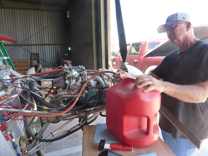 Fuel flow test