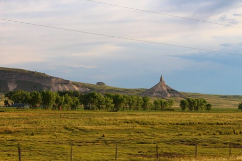 Bluffs around Scottsbluff area.