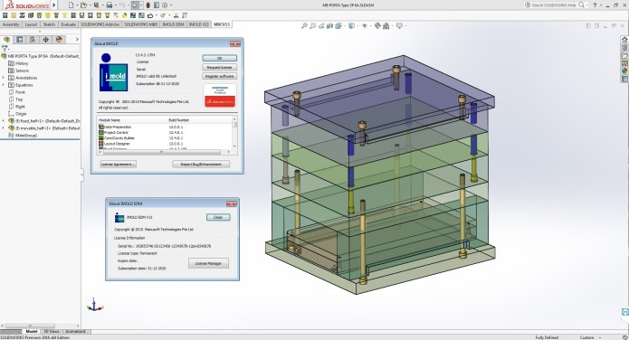 Working with IMOLD V13 SP4.2 Premium for SolidWorks 2011-2017 full license