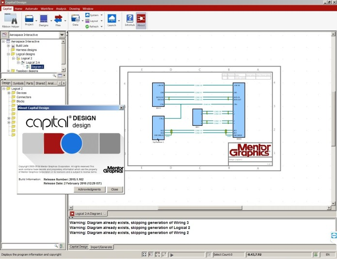 working with Mentor Graphics Capital 2015.1.162 Win64 full