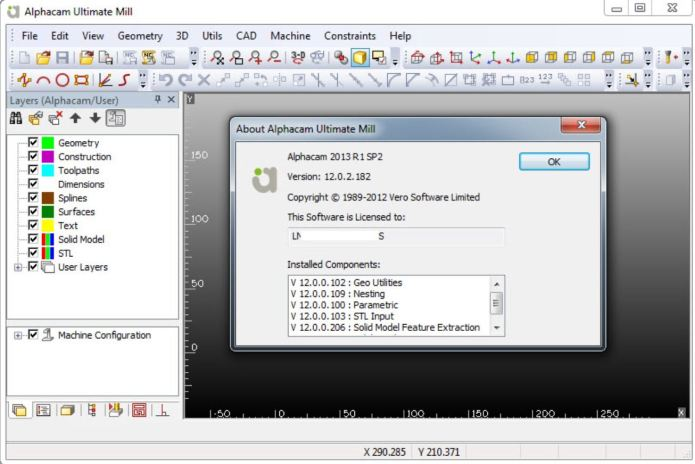 Working with ALPHACAM v2013 R1 SP2 full