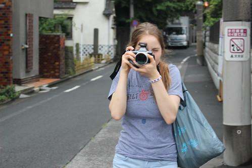 Dueling cameras