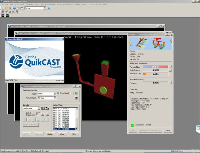 Working with ESI ProCAST v2016.1 Suite Win64 full