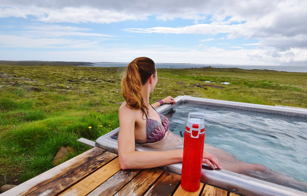 Iceland on a budget - take your own water bottle