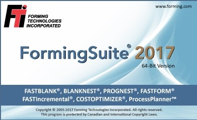 FormingSuite the FTI 2017 software