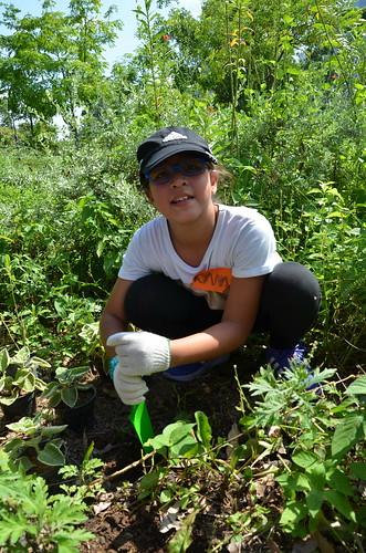 Garden Troopers Planting