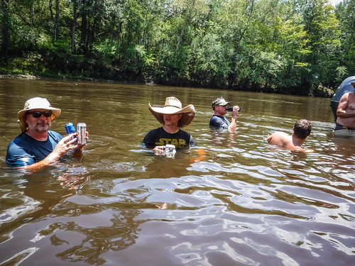Edisto River Rope Swing and Beer Commercial Float-104