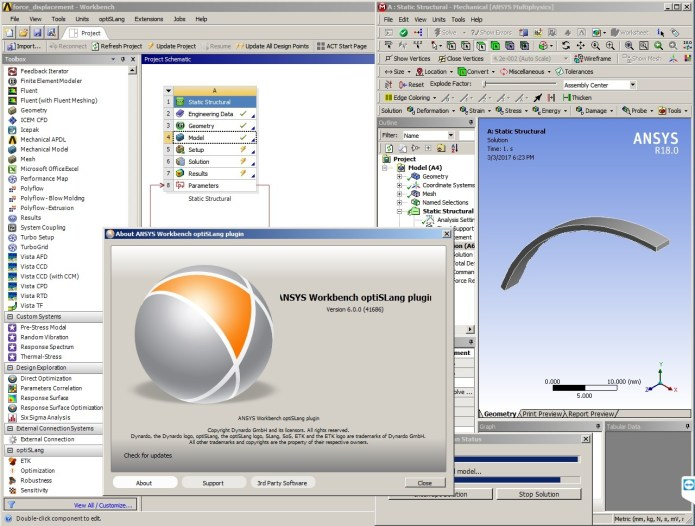 Working with ANSYS optiSLang 6.0.0.41686 full crack