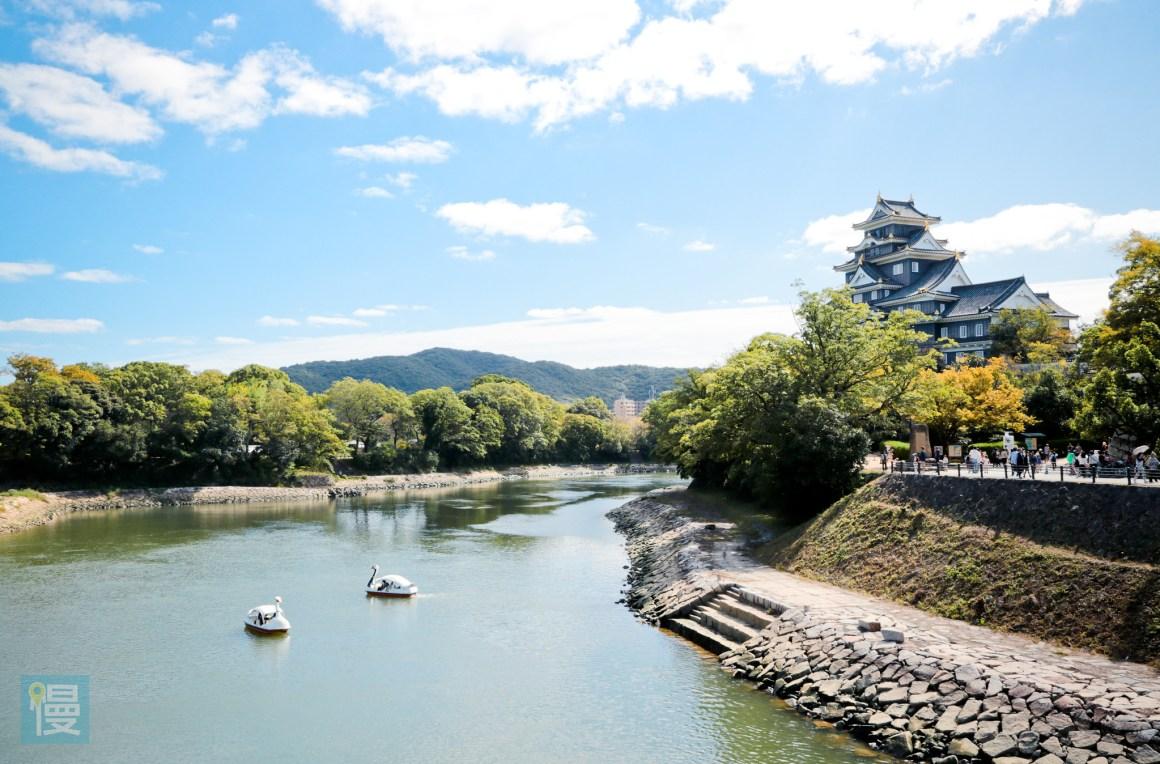 岡山景點自由行 岡山後樂園與岡山城 2016-536