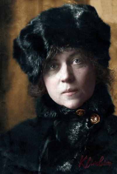Alexandra Kollontai, 1922 | Коллонтай Александра Михайловна, заведующая женотделом ЦК РКП(б)