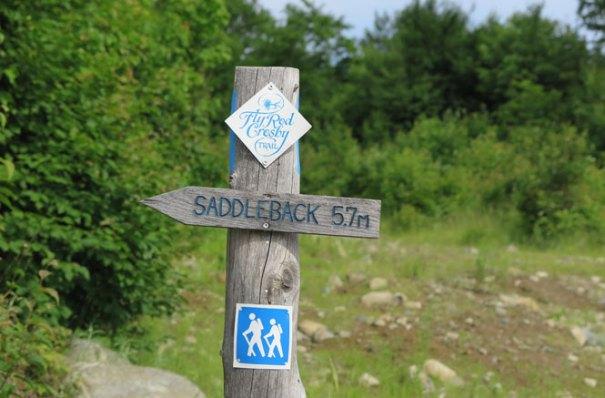 Flyrod Crosby Trail Sign