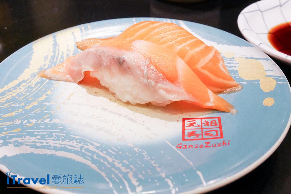 《东京美食推荐》元祖寿司浅草本店:平价连锁回转寿司尝滋味