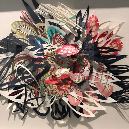 Photos of Cut Up Cut Out at Bellevue Art Museum