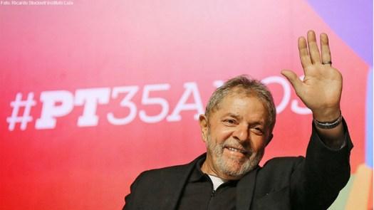 Defesa de Lula aponta falta de provas na sentença em primeira instância - Créditos: Ricardo Stuckert