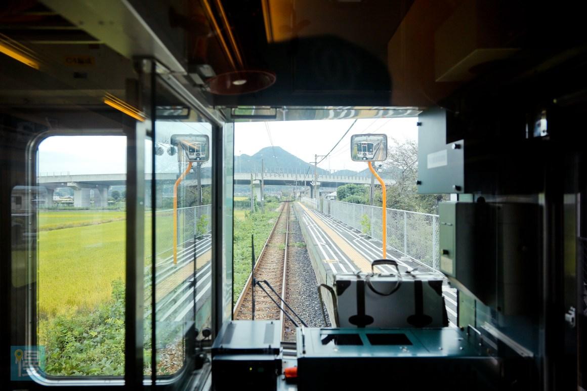 岡山出發文青藝術風的JR觀光列車 2016-256