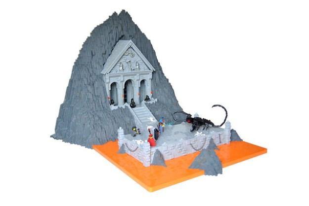 Battle at Dreadmoor Temple
