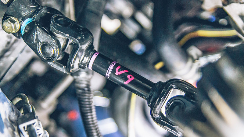install sti solid steering linkage