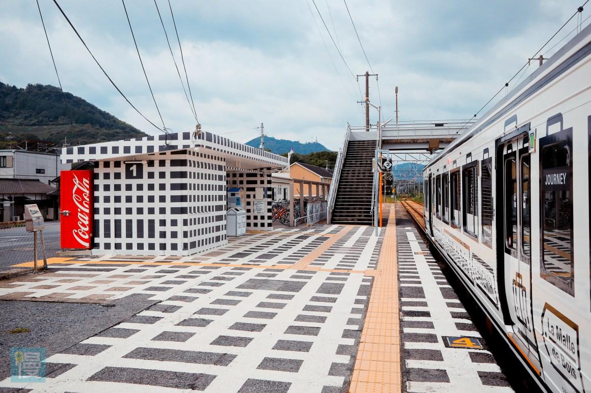 岡山出發文青藝術風的JR觀光列車 2016-366