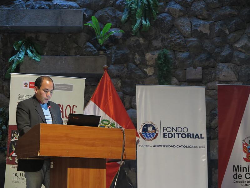 Participación del IPA en evento académico sobre los Incas (13 de julio de 2017)