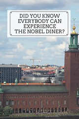 Do you know everybody can experience the nobel diner