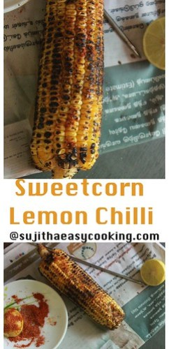 Sweetcorn with Lemon and chilli6