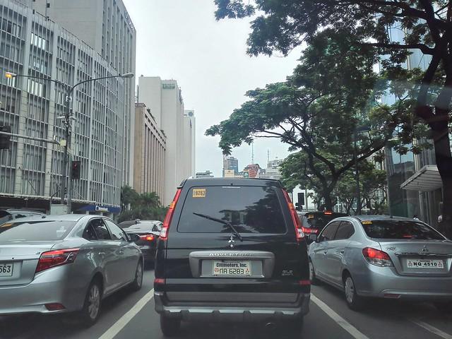 Vehicles in Manila