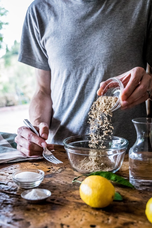 using ground flax to replace eggs is like magic