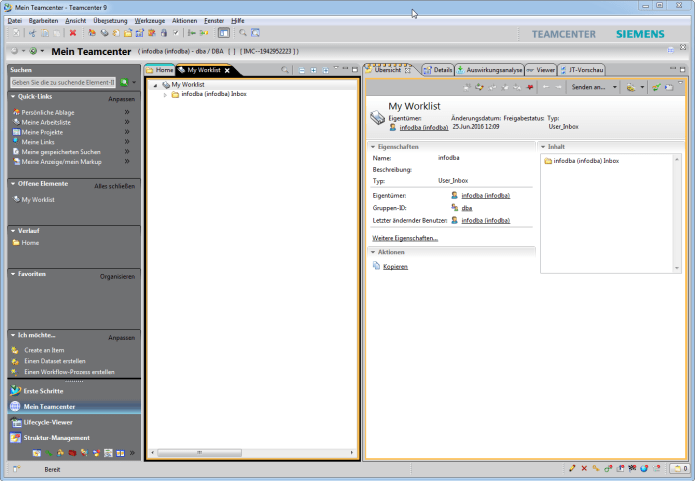 Working with Siemens PLM TeamCenter 9.1 full license