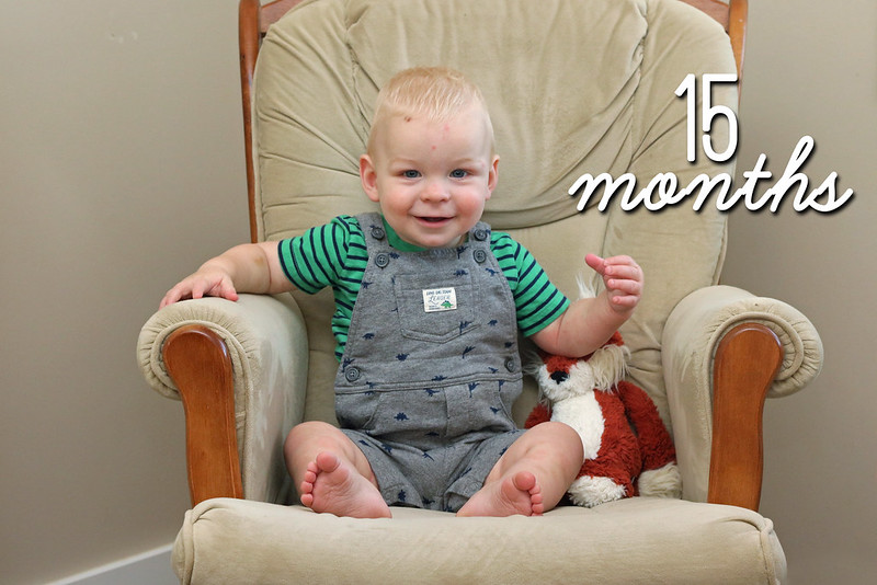 Jonathan is 15 Months Old!