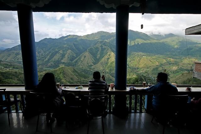 "Overlooking Gunung Nona or ""Erotic Mountain"""