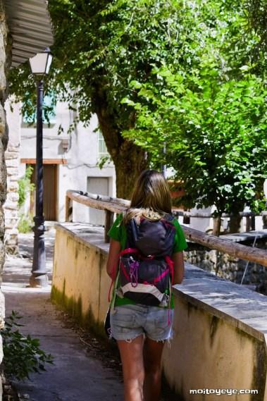 Paseo por Huertapelayo Zaorejas