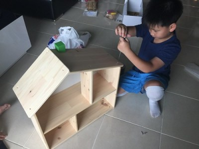 Junior Builders - IKEA Doll House Project