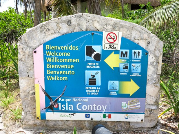 Visita a isla Contoy