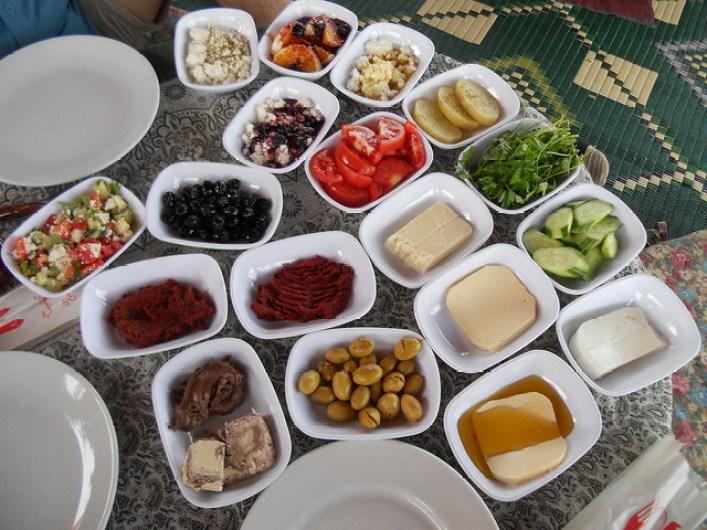 Şirince village breakfast
