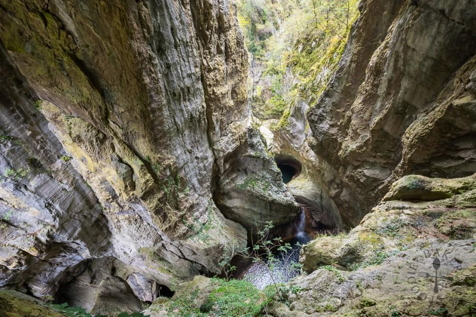 Skocjan Caves troughs