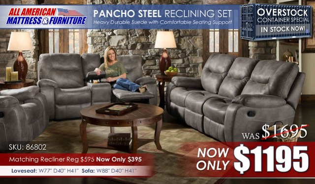 Pancho Steel_ContainerSpecial