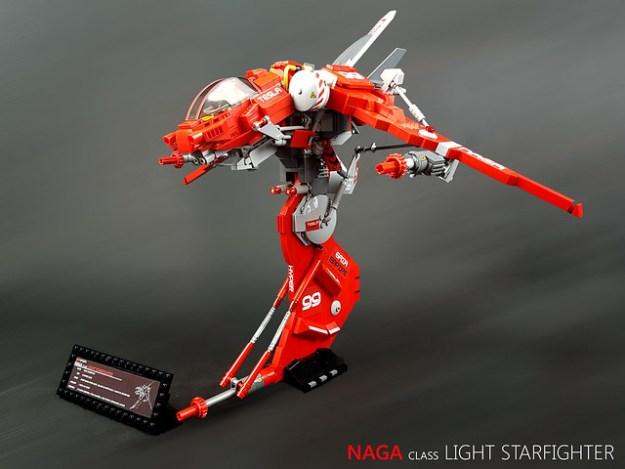 NAGA class light starfighter
