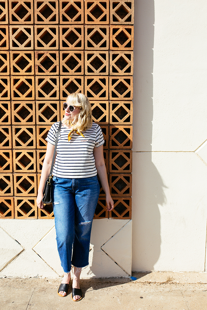 austin style blogger writes like a girl madewell staycation striped tee7