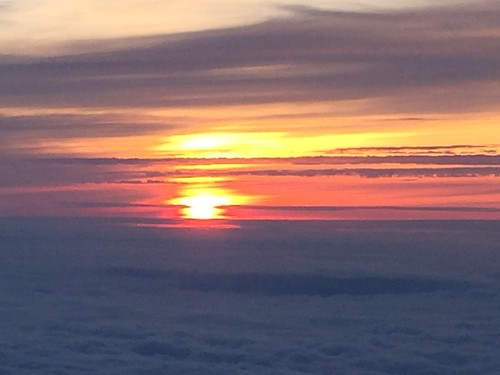 Sunrise at 3250 meters