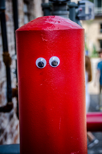 Googly-Eye Bombing Downtown Greenville-40