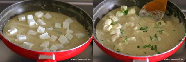 malai paneer gravy 9