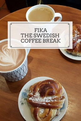 Fika - the Swedish coffee break