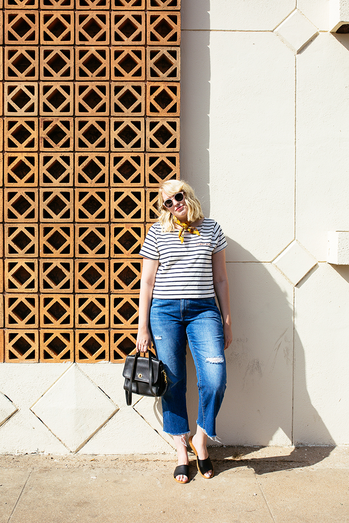 austin style blogger writes like a girl madewell staycation striped tee1
