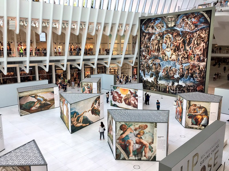 Up Close: Michelangelo's Sistine Chapel - Westfield