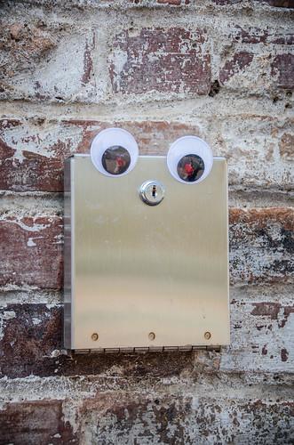 Googly-Eye Bombing Downtown Greenville-41