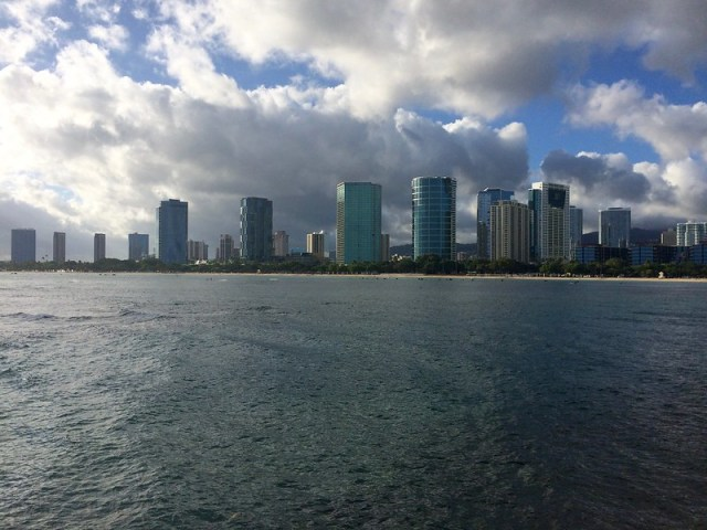 Picture from Ala Moana Beach Park