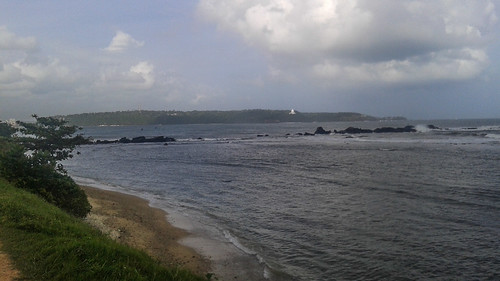 Swimming Bay by Galle Fort Sri Lanka