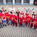 Kinderfeuerwehr mit neuen T-Shirts