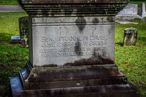 B. F. Davis Grave-001